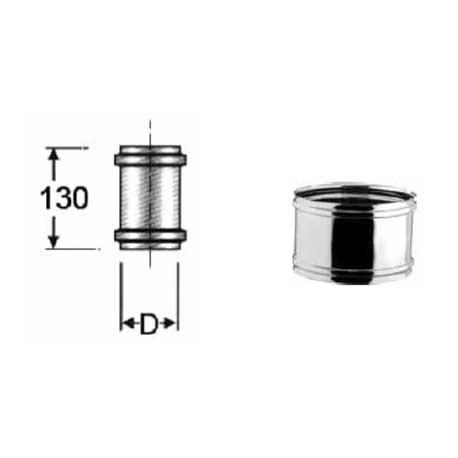RIDUZIONE INOX PER CANNE FUMARIE Diametro Maschio M 200 Femmina F 150 mm